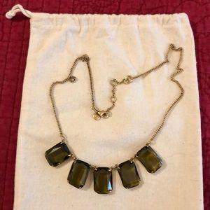 Smoky stone necklace